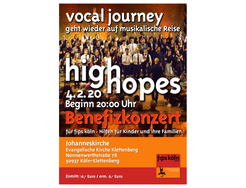High Hopes – Vocal Journey geht wieder auf musikalische Reise