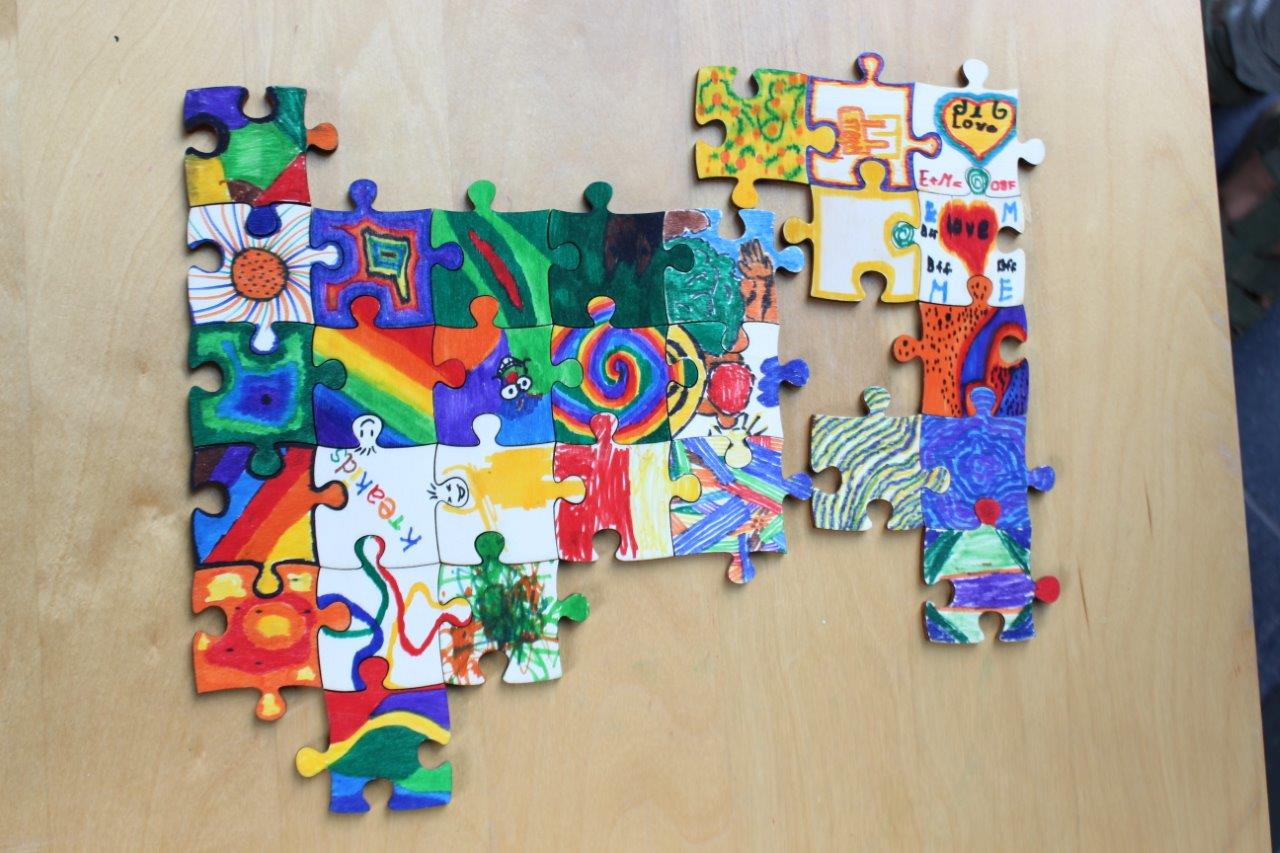 kreatives Puzzle